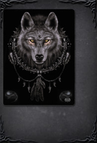 WOLF DREAMS - Fleece Blanket