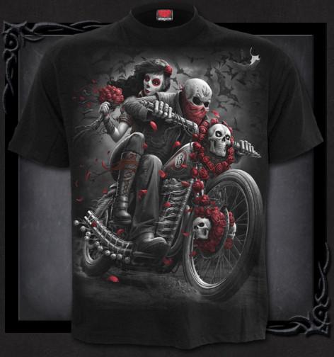 4420c634f473 Metalové tričko Spiral Mrtvý motorkář DOTD BIKERS DT259600 ...
