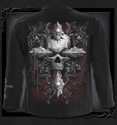 78d22541705a Metalové tričko dlouhý rukáv Spiral Kříž temnoty CROSS OF DARKNESS ...