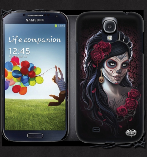 Kryt na mobil SAMSUNG GS4/GS3 DAY OF THE DEAD DW205575 - DOPRODEJ Velikost: GS4