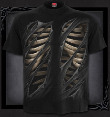 2b74c0685991 Metalové tričko Spiral Upíří lebka CAMO-SKULL TR417600