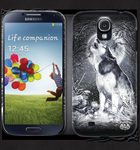 Kryt na mobil SAMSUNG GS4/GS3 WHITE WOLF TR324575 - DOPRODEJ Velikost: GS4