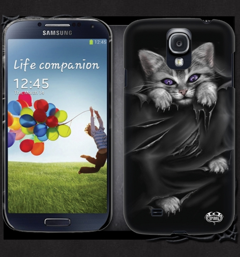 Kryt na mobil SAMSUNG GS4/GS3 BRIGHT EYES FM128575 Velikost: GS4